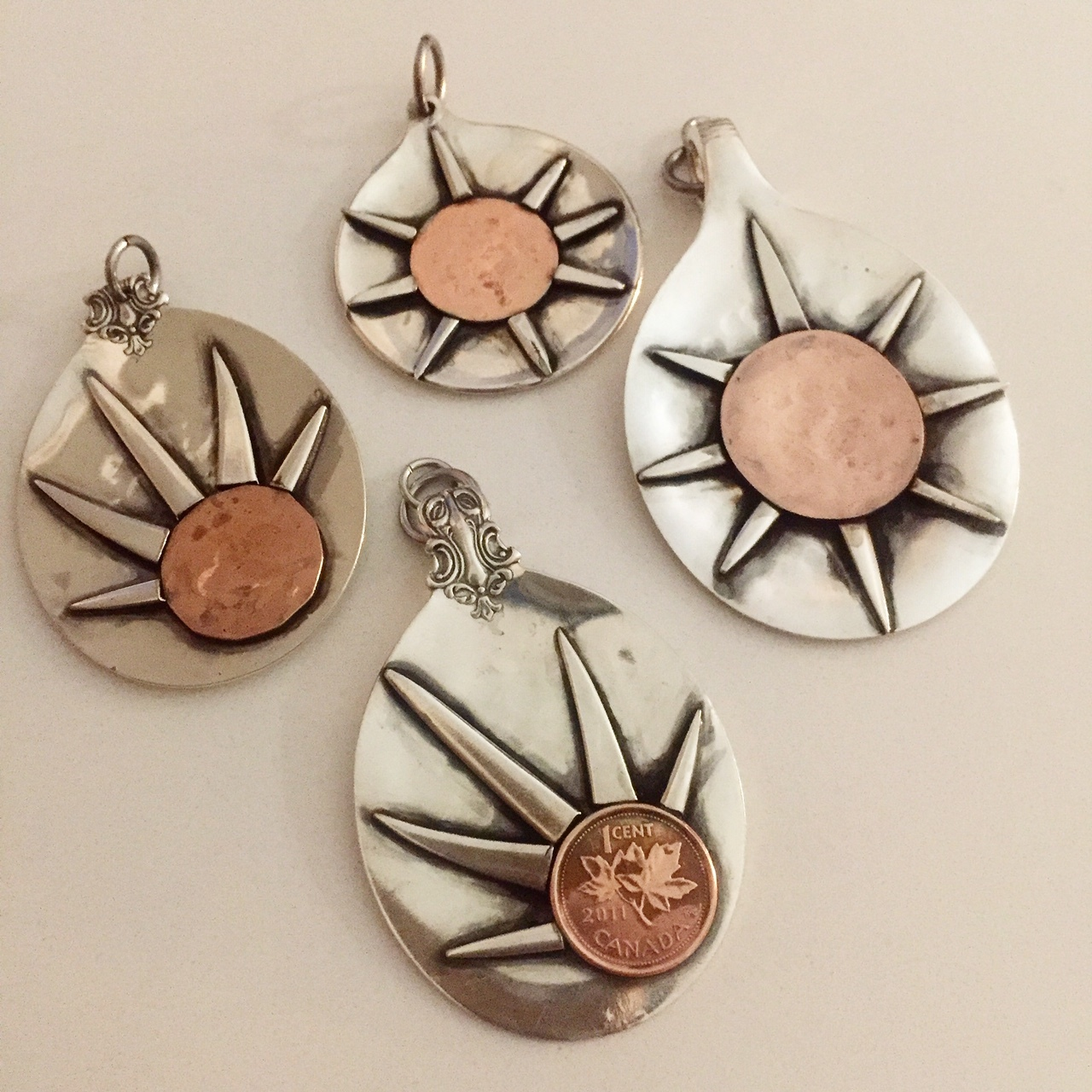 Sun Ray Pendants